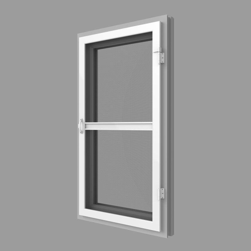 Insect screen opening door servis climax a s for Screen for door that opens out