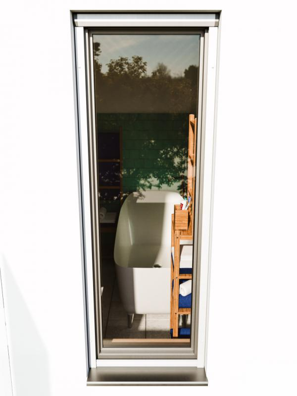 Roll up door screens servis climax a s for Screen door with roll up screen