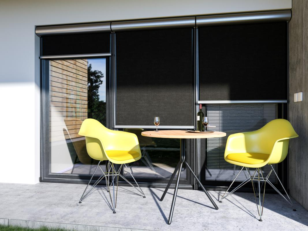 Vertical facade awnings | Vertical façade awnings Winrol 85